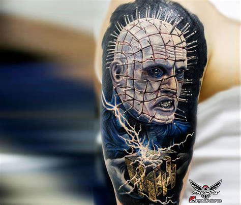 hellraiser tattoo hellraiser by romashev no 3077