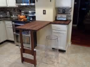 american walnut butcher block countertop contemporary