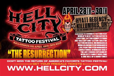 hell city tattoo hell city festival 2017 quot the resurrection quot
