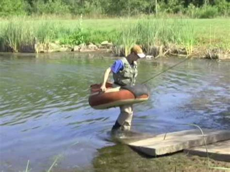 round belly boat float tubing youtube