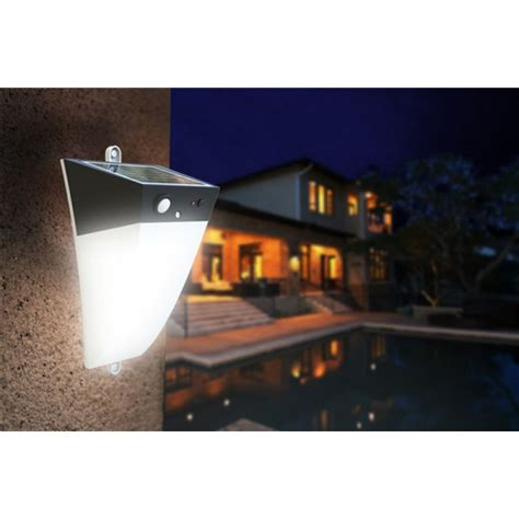 solar wall light with motion sensor solar led motion detection sensor wall outdoor light