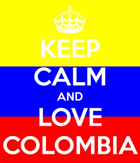 imágenes de keep calm and love keep calm and love colombia poster fabii keep calm o matic