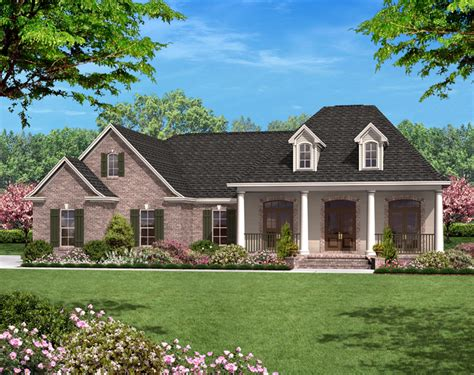house plan 142 1058 3 bdrm 1 500 sq ft acadian home