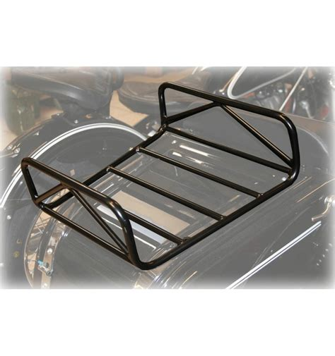 Trunk Rack by Luggage Rack For Sidecar Trunk Lid Black