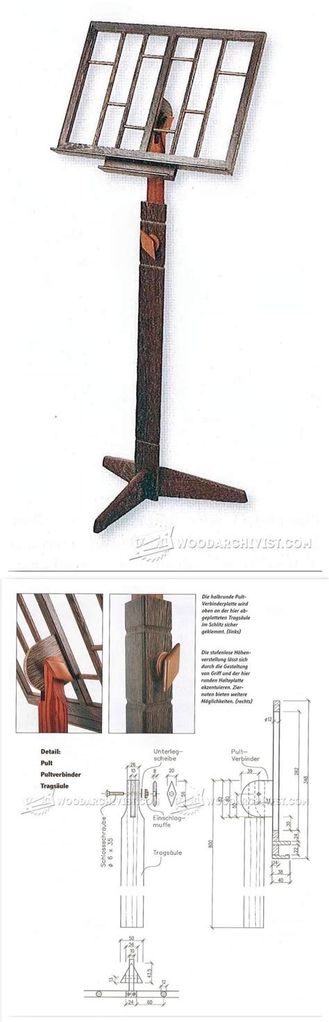 wooden  stand plans woodworking plans  projects