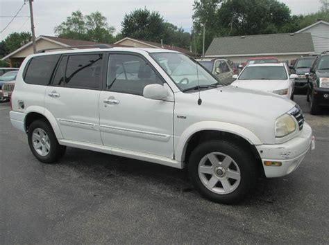 2002 Suzuki Xl7 Mpg 2002 Suzuki Xl7 Base 4wd 4dr Suv In Urbana Il U C Auto