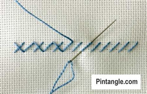 the of cross stitching for beginners step by step guide books alternating cross stitch pintangle
