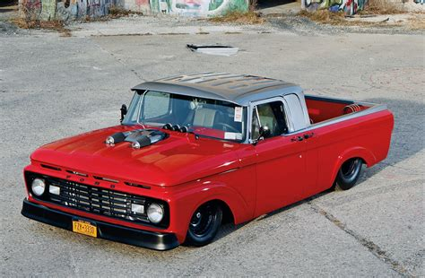 bad ford trucks 1963 ford f100 uni bad