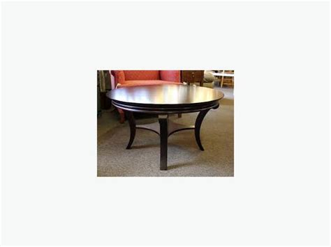 coffee table mahogany finish by bombay company