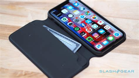 Apple Iphone X Leather apple s iphone x leather folio is really slick