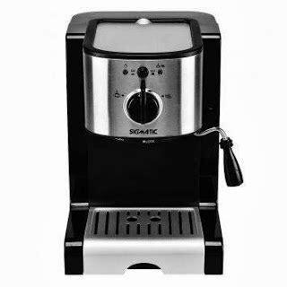 Sigmatic Coffee Maker daftar mesin pembuat kopi espresso murah harga mesin terbaru
