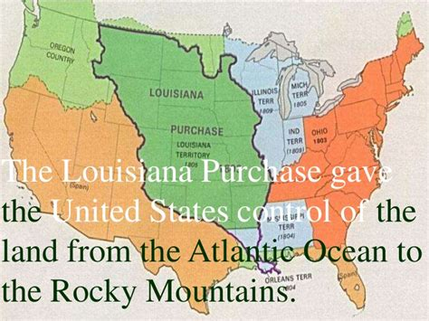 united states map louisiana purchase louisiana purchase and the corps of discovery