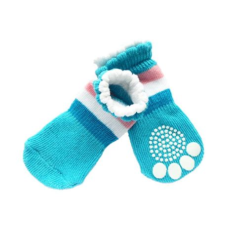 puppy socks pet socks cotton shoes non slippery winter warmer sock puppy cats skid shoes