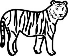 outline pictures of animals for colouring free download
