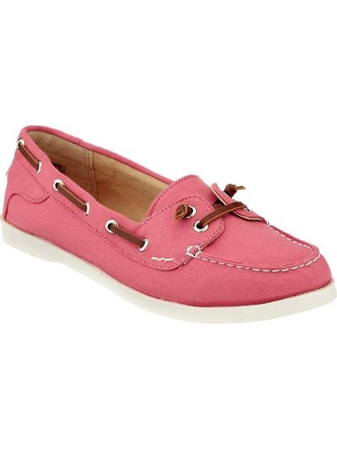 boat shoes old navy old navy women s canvas boat shoes my style