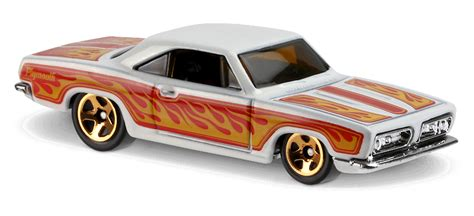 68 plymouth barracuda formula s in white hw flames car collector wheels