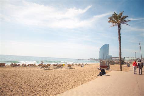 barcelona beach barcelona beaches and beach lingo shbarcelona