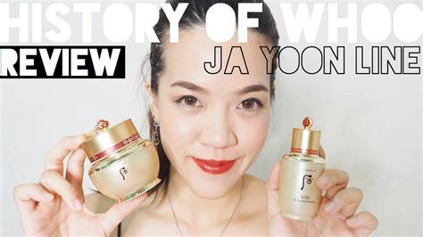 The History Of Whoo Ja Yoon review the history of whoo ja yoon