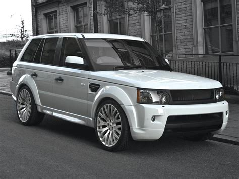 Entertainment Hidosenii 2010 Range Rover Sport White
