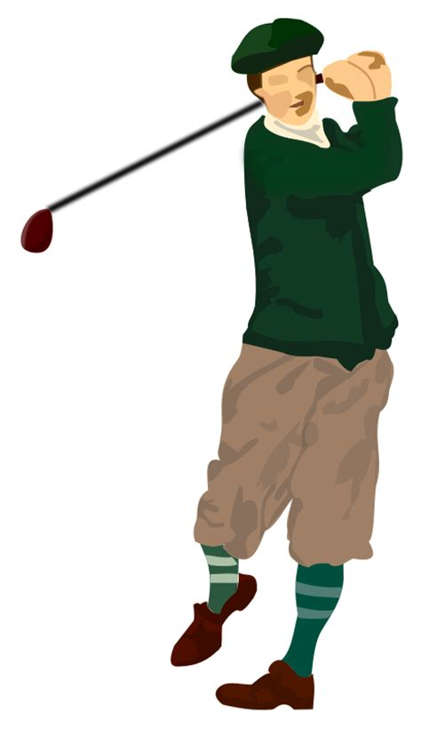 golf clipart free to use domain golfer clip
