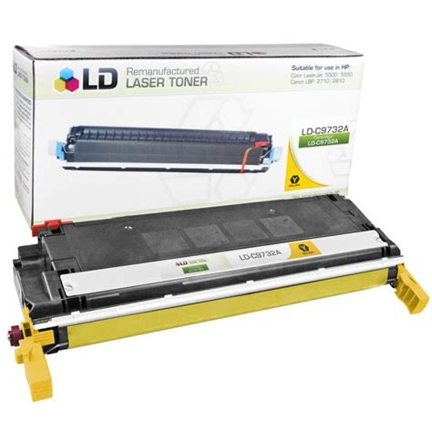 Toner Printer Hp 645a C9732a Yellow Baru ld remanufactured c9732a 645a yellow toner for hp ld products