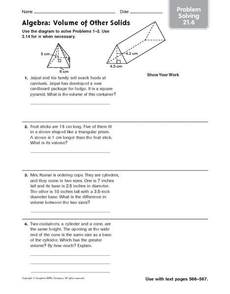 printable area word problems worksheets volume word problems worksheets opossumsoft