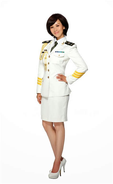 chinese military uniform girl the uniform girls pic white chinese china military