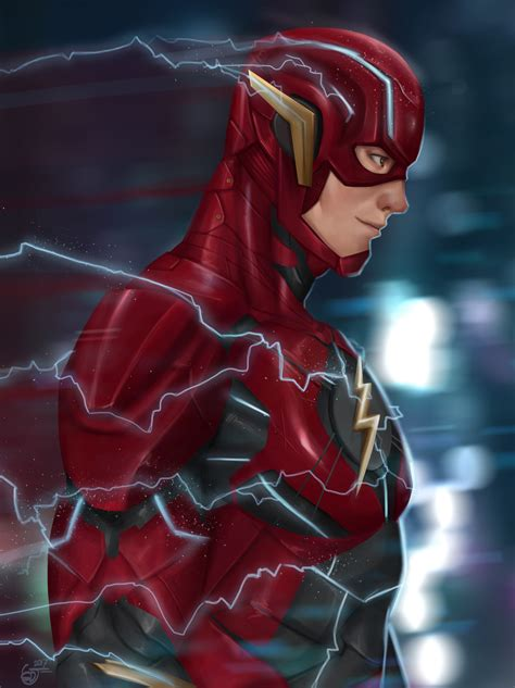 the flash fan the flash by saifuddindayana on deviantart