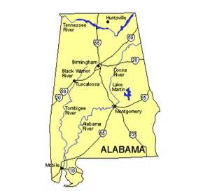 maps for design us states maps alabama us state