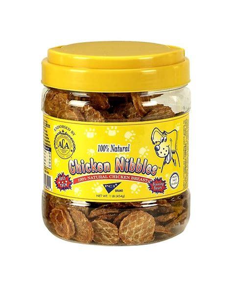 puppies pet center pet center chicken nibbles treats 1 lb jar chewy