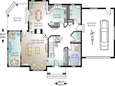 Home Plans by Small Open Concept House Plans Open Floor Plans Small Home