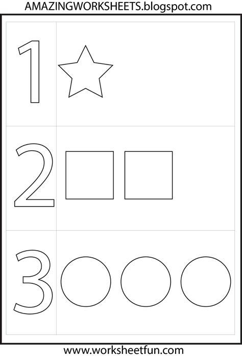 numbers preschool toddler numbers