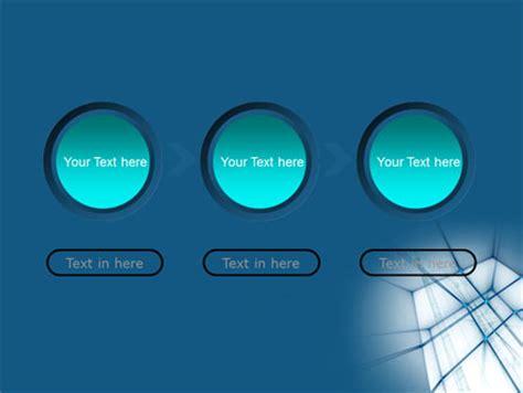 Blaue Powerpoint Vorlage abstrakte blaue konstruktion powerpoint vorlage