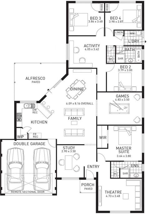 apartments family house plans single family home designs