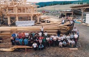 Colorado Kitchen Designs log home and log post amp beam design and construction bc
