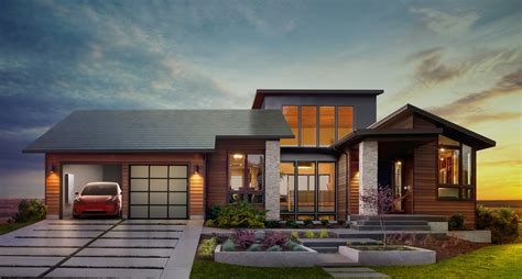 why tesla s new solar roof tiles and home battery are such