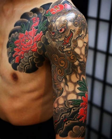 foo dog tattoo 75 fantastic foo ideas a creature rich in