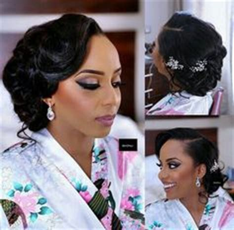 www weddinghairstylewithbrizilla bridal hair style vintage updo clean updo african