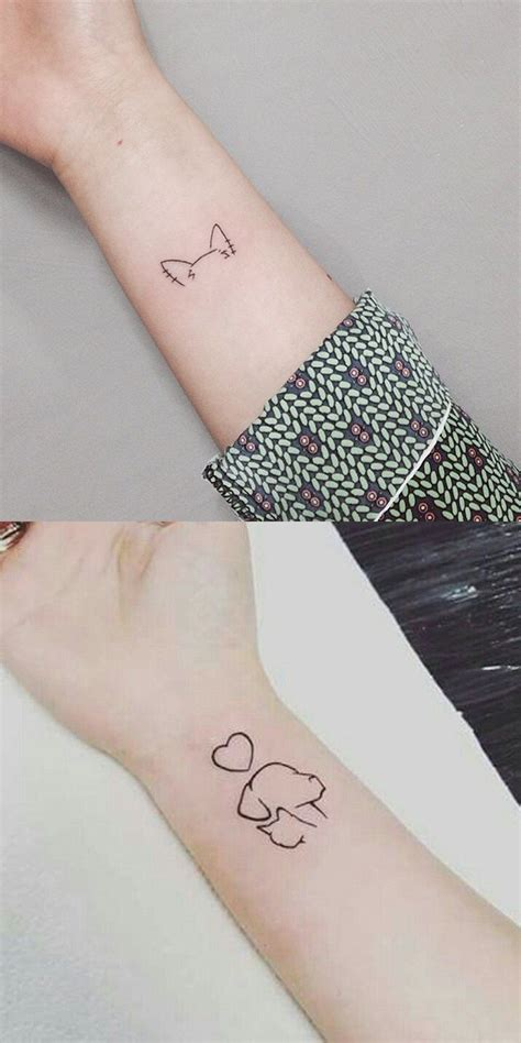 small simple cute tattoos 30 small simple ideas for animal