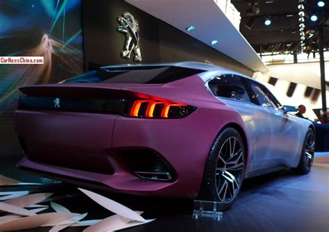 peugeot china peugeot exalt concept debuts on the beijing auto