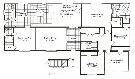 modular home 5 bedrooms modular homes