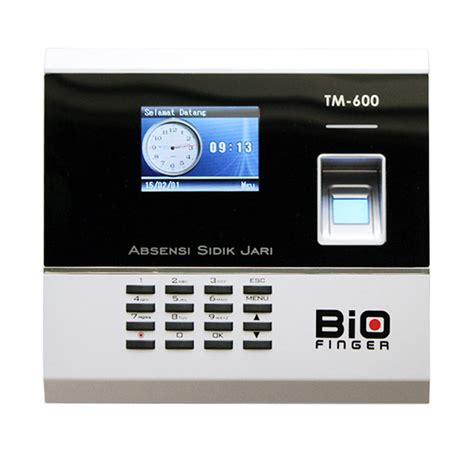 jual bio finger tm 600 fingerprint absensi sidik jari harga kualitas terjamin