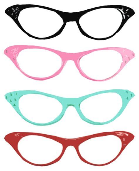 cat eye glasses clipart clipartsgram