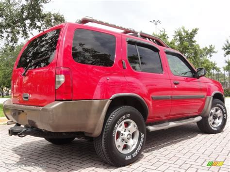 2000 nissan xterra se v6 4x4 in aztec red photo 2 aztec red 2000 nissan xterra se v6 4x4 exterior photo 67104632 gtcarlot com