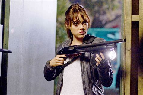 what film does emma stone die in zombieland picture 6