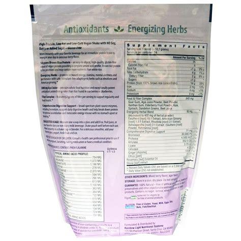 rainbow light protein energizer discontinued rainbow light energizante de prote 237 na explosi 243 n de baya
