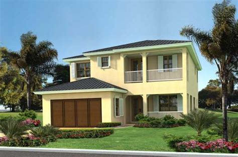 Two Story Florida House Plans by Florida Style House Plans 2899 Square Foot Home 2