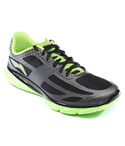 li ning black sport shoes price in india buy li ning