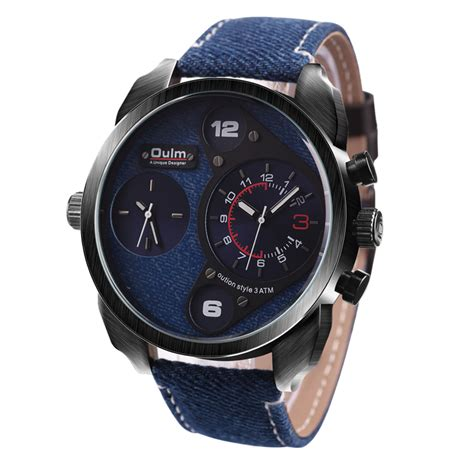 Jam Tangan M137 1 oulm jam tangan analog hp9316 navy blue jakartanotebook