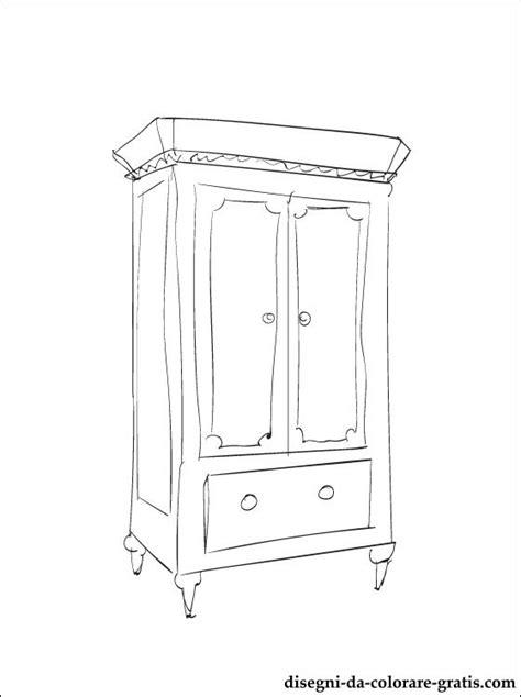 disegno armadio disegno di armadio da colorare disegni da colorare gratis